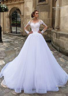 Vestido de noiva Destaque - Coleção Lago dos Cisnes 2018 www.russianoivas.com