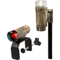 Attwood Clamp-On Portable LED Light Kit - RealTree® Max-4 Camo