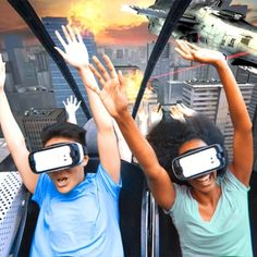 Virtual reality roller coaster coming to Six Flags St. Louis.