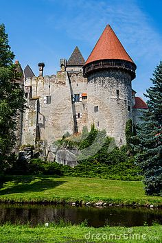 Austria, Lower Austria, Heidenreichstein Castle ,known as the most beautiful water castle. Feldkirch, Heart Of Europe, Chateaus, Manor Houses, Fortification, Art Moderne, Medieval Castle, Central Europe, Beautiful Architecture