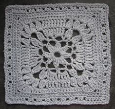 """Ravelry: """"Fare Thee Well"""" 9"""" and 12"""" Afghan Square Block pattern by Margaret MacInnis"""