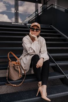 Was ziehe ich morgen an? 5 Frühlingsoutfits für jeden Tag! Casual Chic Outfits, Outfits Tipps, Mocca, Skinny, Outfit Of The Day, Glamour, Street Style, Interior, Fashion