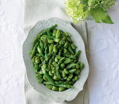 Broad beans complement bacon and pancetta, go well in omelettes and frittatas, make a hearty addition to salads, or are great as a seasonal vegetable with your roast.