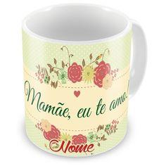 Caneca Porcelana Personalizada Mamãe Eu Te Amo Adventista - ArtePress   Brindes Personalizados, Canecas, Copos, Xícaras
