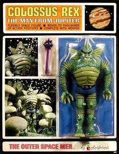 Jupiter - Outer Space Men, Mint, Series I