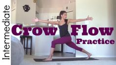 I really liked this. Has a new pose I hadn't done before called fallen angel. Love new poses! Namaste! beautiful yogis! Intermediate Yoga Practice - Crow Flow (Arm Balances)