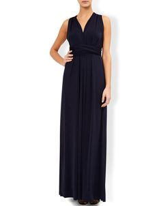 Garland Maxi Dress | Navy | Monsoon