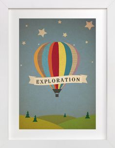 Exploration Destination by Serenity Avenue at minted.com