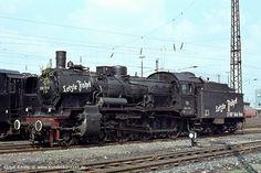 Die letzte Fahrt der 038 711:  8/5/1974 Bw Seelze