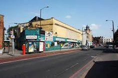 Jono's Snooker Hall, looking towards Camberwell Green crossroads