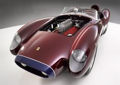 Sporting a gorgeous and purposeful body by Scaglietti & C., the 1958 Ferrari 250 Testarossa was one of the scuderia's most successful race cars on the track. Photos 1 - 4: Festivals of Speed All other images: Ferrari More vehicles on the grid via Screaming Cars