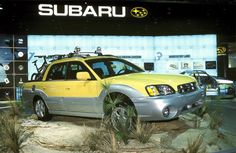 Subaru Baja (2002-2006) My dream car. I will get one before they disappear forever!!