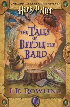 The Tales of Beedle the Bard are perfect for Harry Potter lovers (and seriously, who doesn't love Harry Potter). They're an extra taste of the wonderful world that J. Rowling created and I think every Potter fan should own this book. Harry Potter Hardcover, Harry Potter Books, Good Books, Books To Read, My Books, Amazing Books, It's Amazing, Harry Potter Encyclopedia, The Book