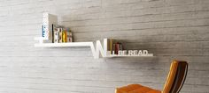 Typographic Bookshelf By Meb Rure Design Studio -