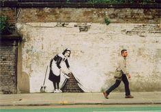 banksy Photoshop Tutorial #idea