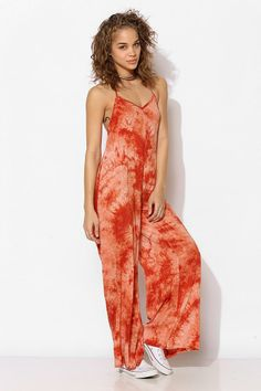 Staring At Stars Tie-Dye Loose Jumpsuit #urbanoutfitters