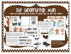 The Gingerbread Man: Customs and Celebrations from around Literacy Year 1, Preschool Literacy, Kindergarten Teachers, Country Information, Graphing Activities, Sentence Starters, Thing 1, Compare And Contrast, Word Families