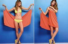 Így készíts csinos strandruhát a téli kendődből! | retikul.hu