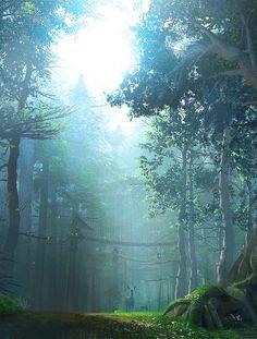 fantasy-art-engine:   Dark Forest by Mieke... - Meena's Tirith