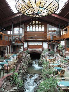 The Brook-dale Lodge in Brook dale, California, USA