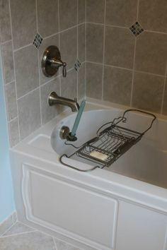 Avon Lake Bathroom Remodel Featuring A New Tiled Shower With Kohler - Kohler devonshire bathroom faucet brushed nickel