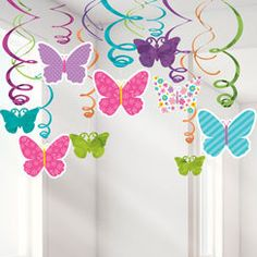 Flying butterflies by Nata Ursol on Etsy