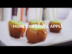 Honey Caramel Apples | Farm to Table Family | PBS Parents - YouTube