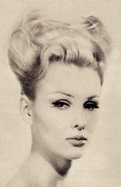 60's hairstyle bouffant from La Coiffure de Paris magazine avril ...