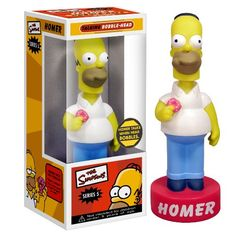 Funko - Talking Homer Wacky Wobbler