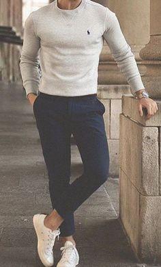 Le bas oui mais le haut non Trendy Mens Fashion, Stylish Mens Outfits, Mens Fashion Suits, Men Summer Fashion, Cool Outfits For Men, Winter Fashion, Most Stylish Men, Simple Outfits, Mode Masculine