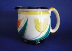 Susie Cooper Gray's Pottery 'Tulips' Jug c1929
