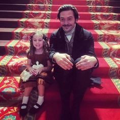 BTS of Victoria II: Prince Ernest and (possibly) Princess Victoria.