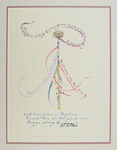 Chris Corser ~ calligraphy