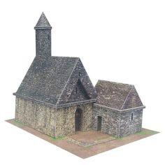 Printable paper church