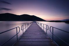 Wonderful lake at Prespes Greece