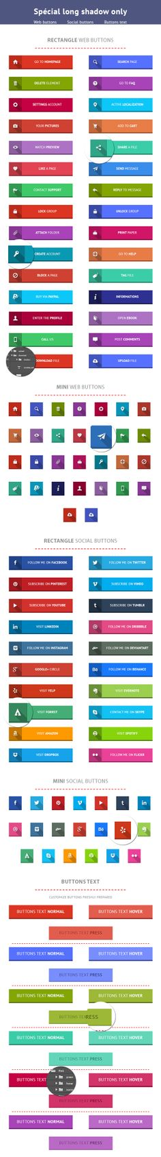 Flat Web & Social Buttons Set  http://graphicriver.net/item/flat-web-social-buttons-set/7491198?WT.ac=category_thumb&WT.seg_1=category_thumb&WT.z_author=Steyazo  File under copyright.