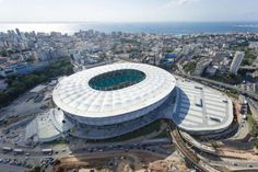 Stadiums of the 2014 #WorldCup - Arena Fonte Nova - Salvador #Soccer #Stadiums