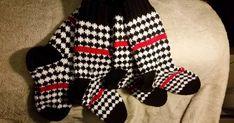 Neulonta, virkkaus, villasukat, kissat. Handicraft, Gloves, Socks, Winter, Inspiration, Knitting Ideas, Diy, Fashion, Craft