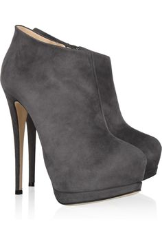 Suede ankle boots by Giuseppe Zanotti