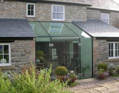 Conservatory, Orangery, Garden Room, the perfect complement to your home Glass Roof Extension, Extension Veranda, Orangery Extension, Cottage Extension, Building Extension, Extension Ideas, Extension Google, Casa Clean, Glass Structure