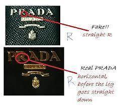 fake vs real Prada purse