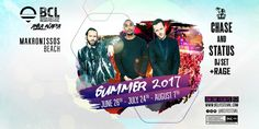 BCL Beach Cult live events present a spectacular line up of international artists performing live in Ayia Napa in 2017 Night Club, Night Life, Chase And Status, Ayia Napa, International Artist, Live Events, Beach, Seaside