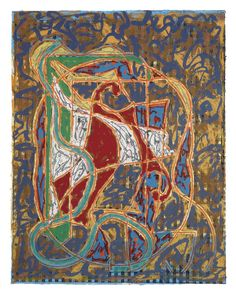 From Berry Campbell Gallery, Frank Stella, Imola Three IV (Circuit Series) Relief-printed etching and woodcut in colors on Tyler Graphics Ltd. Frank Stella Art, Global Art, Online Images, Art Market, Printmaking, Screen Printing, Third, Artsy, Gallery