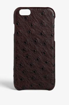 The Case Factory - Ostrich Chocolate iPhone 6 (101122)