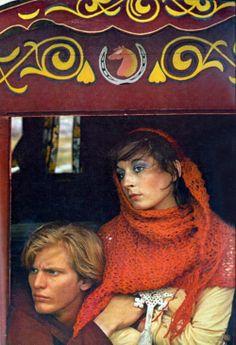 Richard Avedon - Anjelica Huston, Vogue US October 1969 Grace Coddington, Richard Avedon Photos, Houston, John Huston, Anjelica Huston, Deneuve, Diana Vreeland, Vogue Us, Sixties Fashion