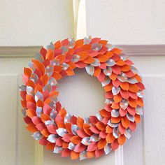 December isn't the only month to adorn your door with a wreath. Check out these creative autumn wreaths that can live on and around your home before Santa comes knocking!