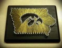 """Made to Order Detailed State String Art 9""""x11"""""""