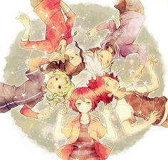 Inazuma Eleven Go, Emoji, Images, Fan Art, My Love, Sun Garden, Anime, Passion, Seasons