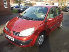 2004 RENAULT SCENIC DYNAMIQUE 1.5 DCI 54K MILES FSH EXCELLENT CONDITION