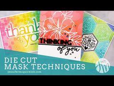 Die Cut Mask Techniques - YouTube